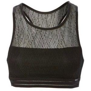 NEW Kensie geometric lace sports bra bralette